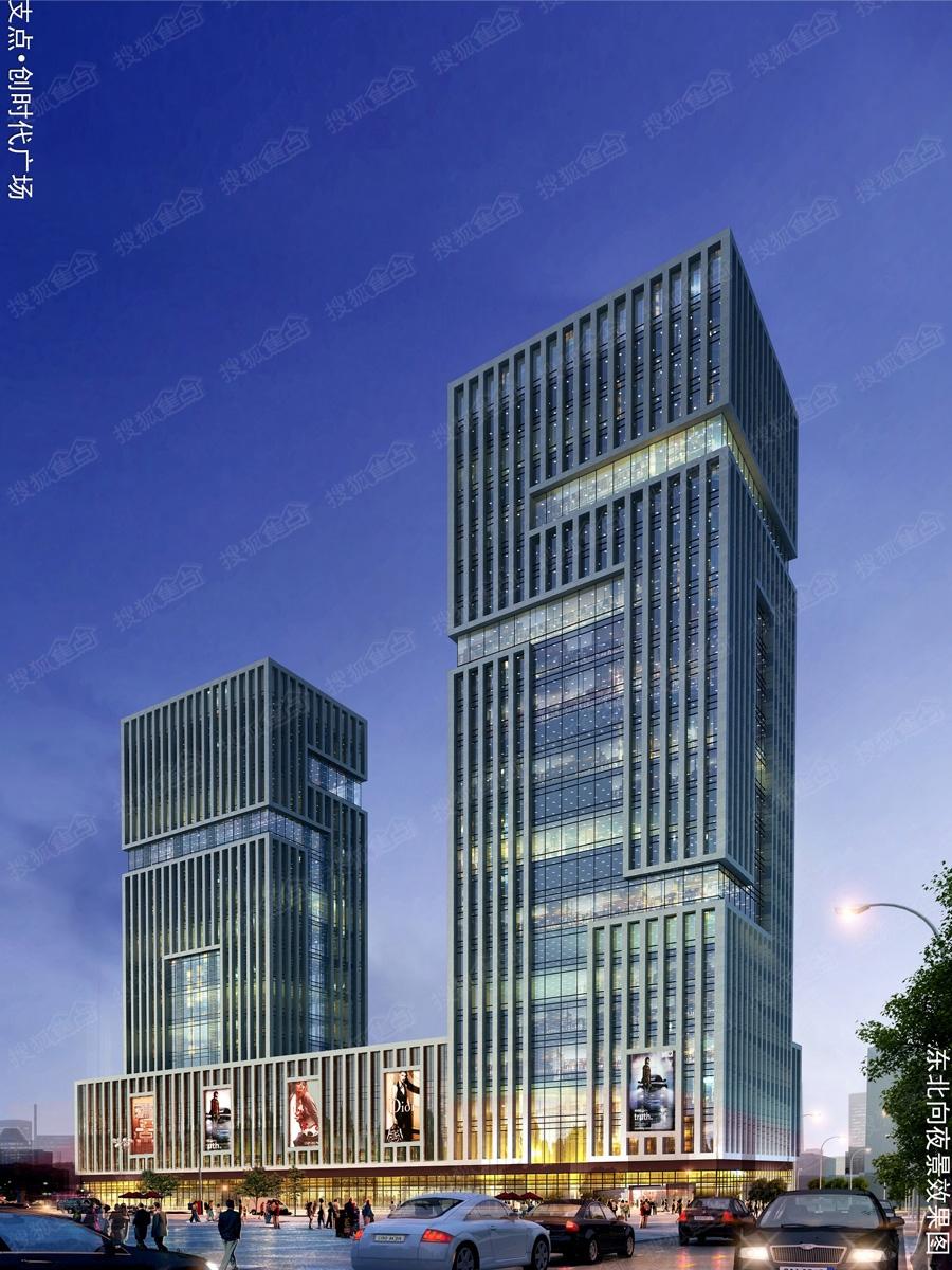 全景玻璃幕墙,10米挑高生态精装大堂,中央空调,新风系统,总裁专属电梯