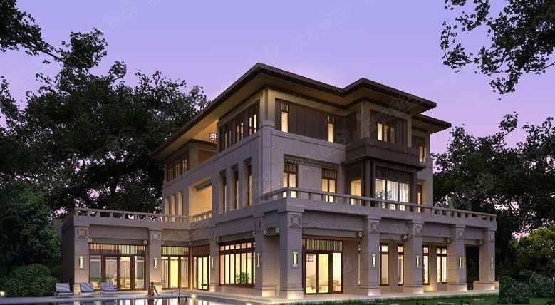 16米宽别墅设计图片