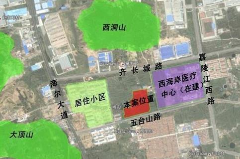 盛世福邸交通图-青岛搜狐焦点网