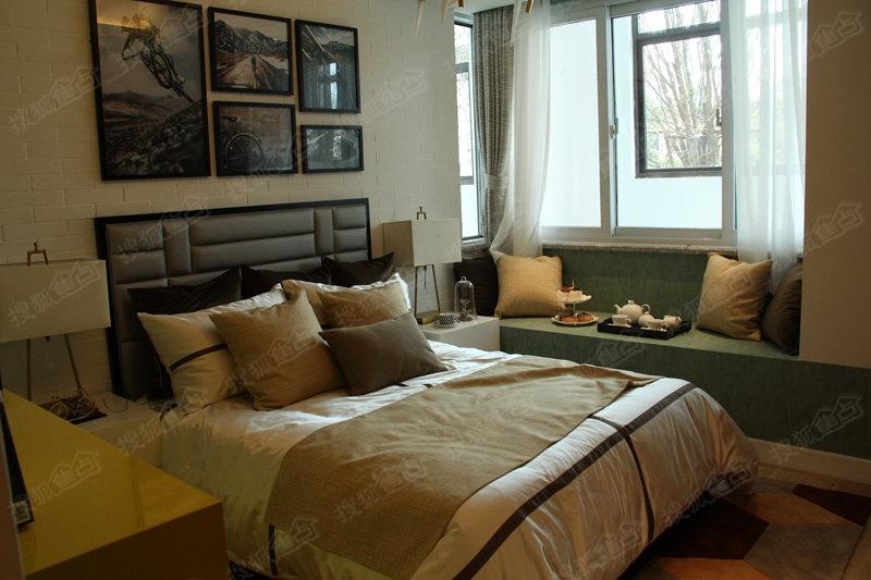 新城花漾紫郡d户型79平米样板间卧室