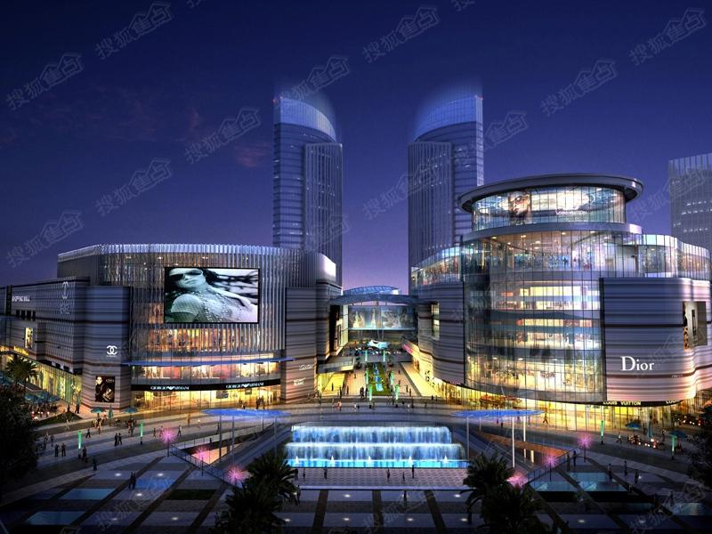 重庆万象城市广场效果图
