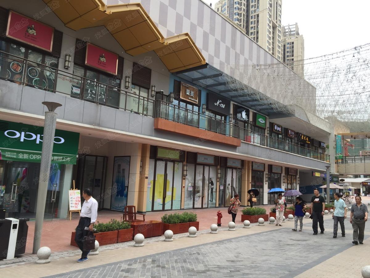 重庆巴南万达广场周边配套图-商业