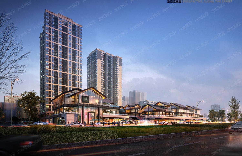 仁安里沿街透视图-重庆搜狐焦点网