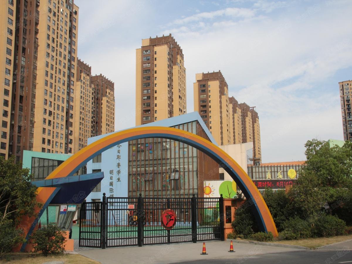 绿都万和城周边配套图-耶鲁国际幼儿园
