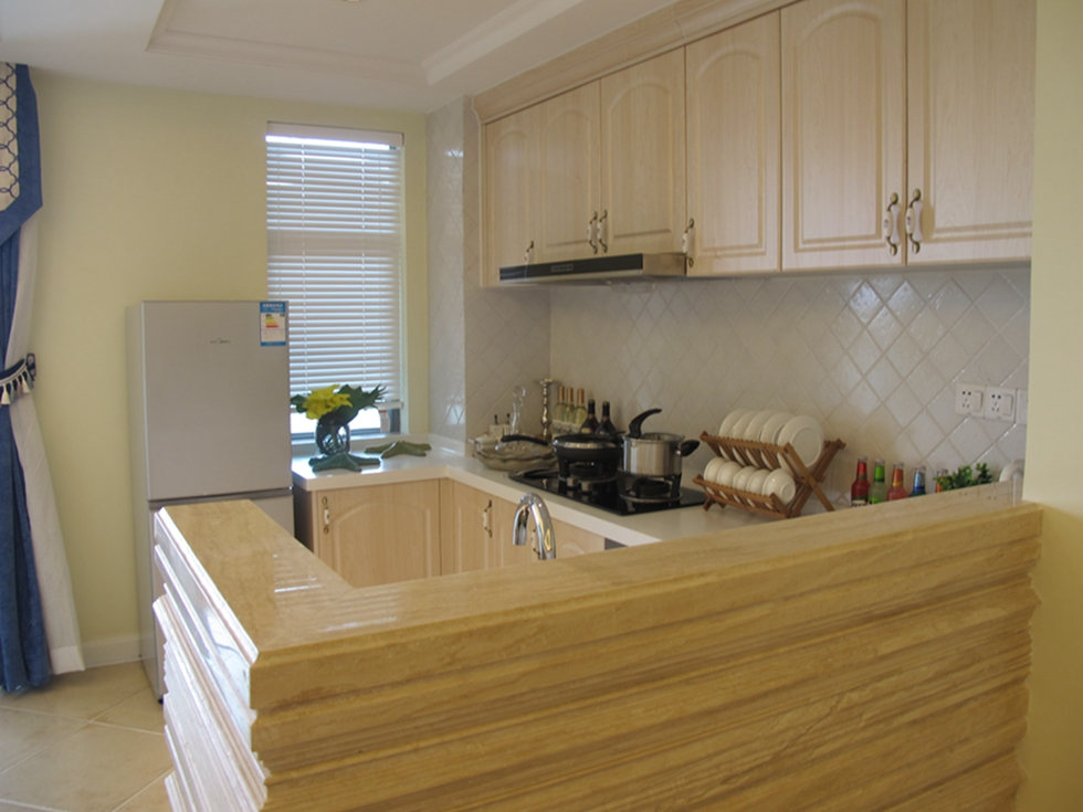 厨房生态板隔断效果图