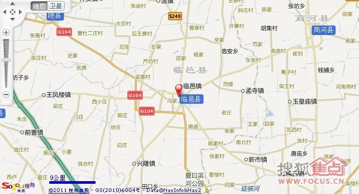 临邑地图高清版