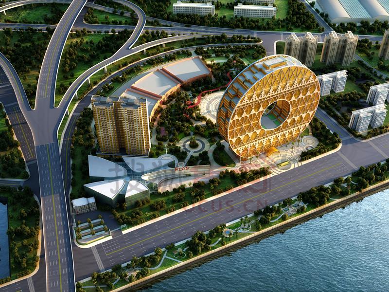 白鹅潭商圈大型商务综合体广州圆大厦即将推出