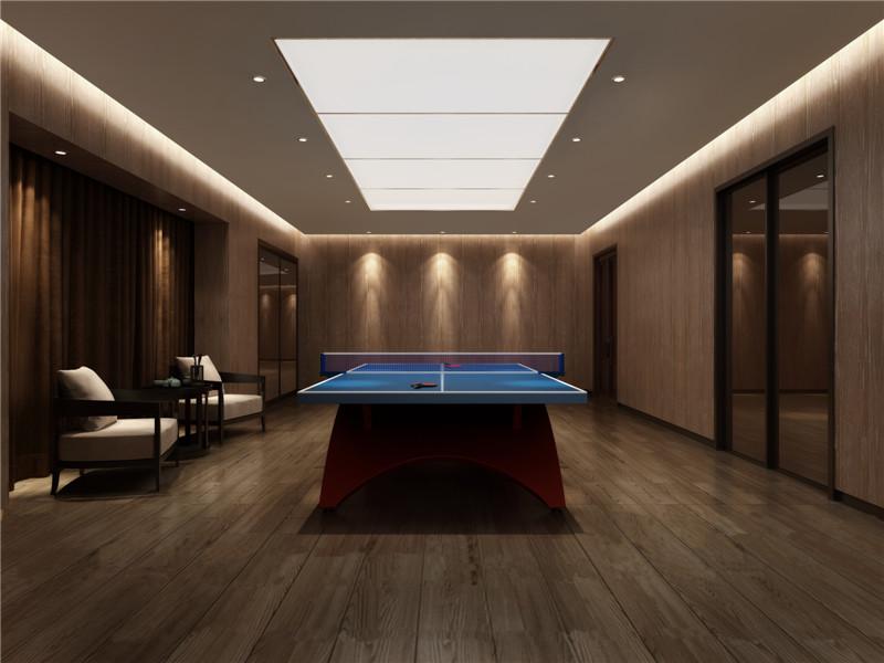 北国风光·天建城乒乓球室视效果图