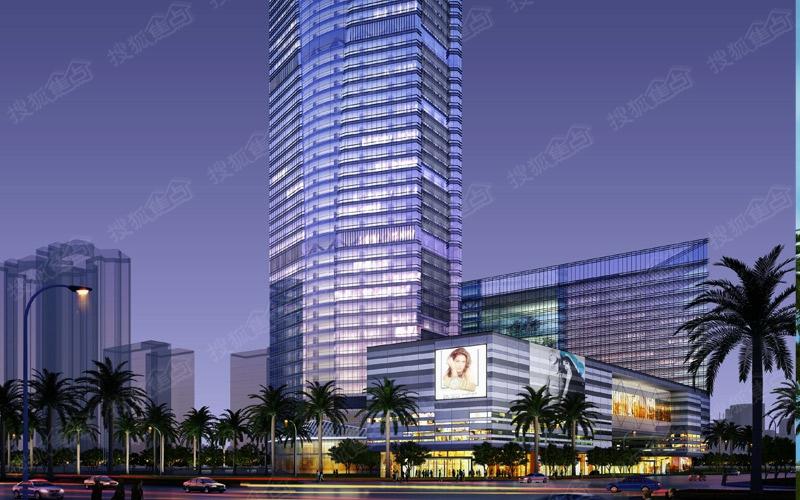 5a级写字楼,酒店式公寓,时尚 海航国际广场地处海口市金融商贸区
