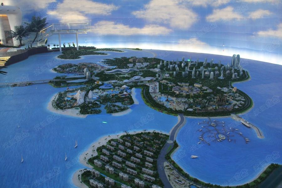 中国海南海花岛楼盘实景图