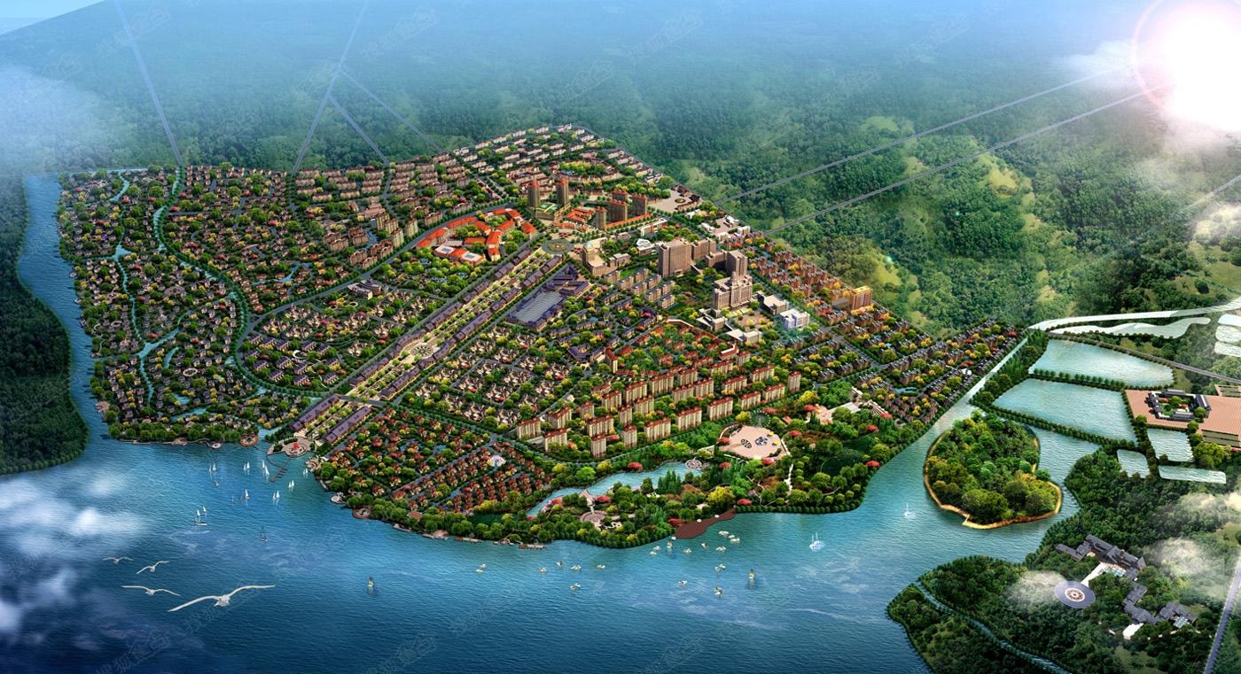 太平湖温泉小镇整体鸟瞰图-哈尔滨搜狐焦点网