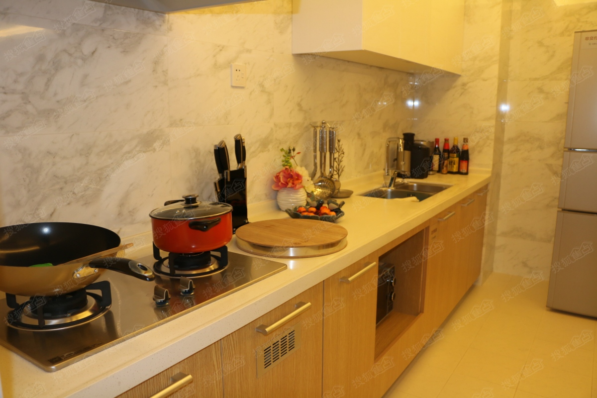 二期d户型样板间—厨房