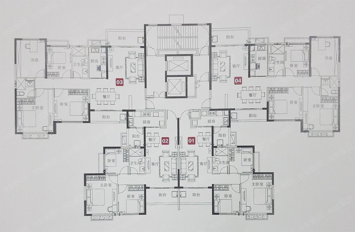 7#楼层平面图