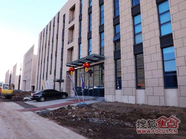 洛阳恒生科技园2013 1 24施工进度图