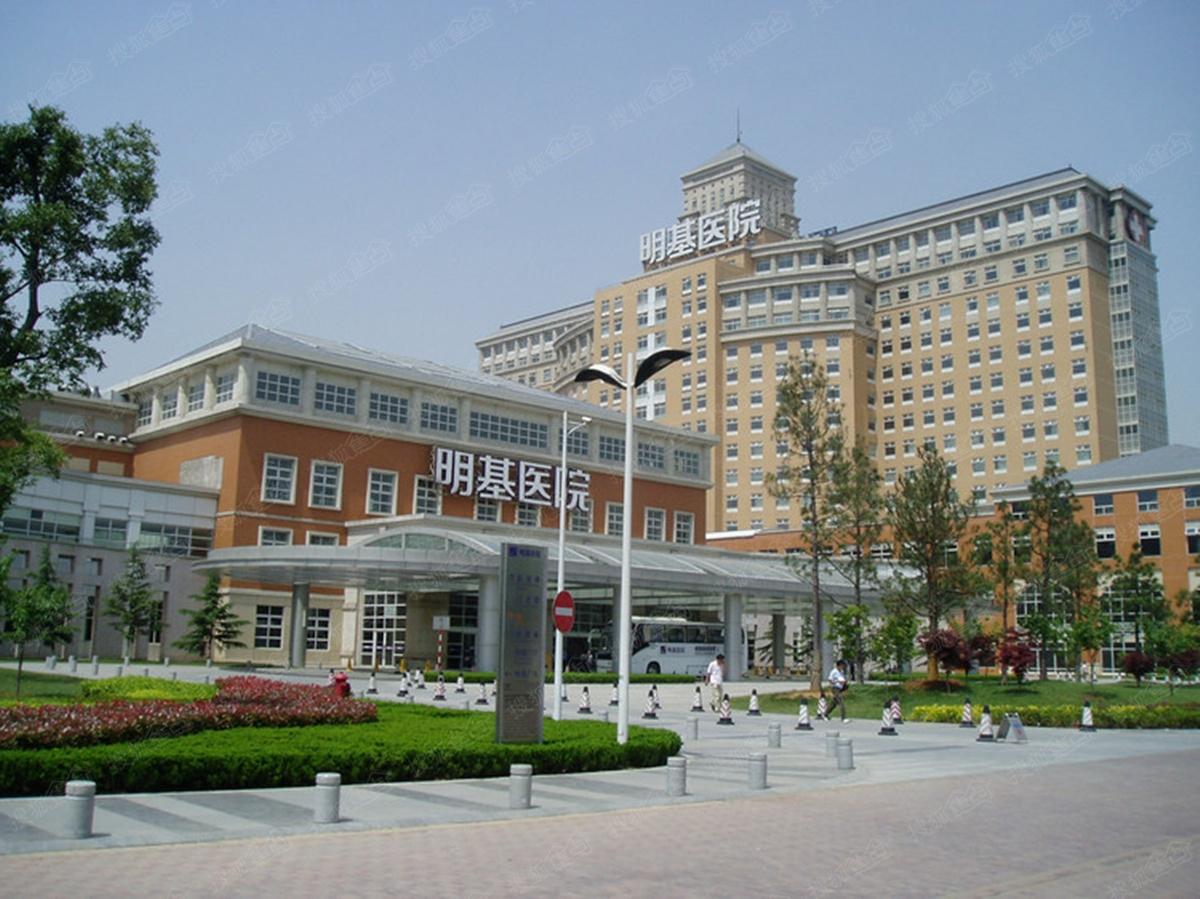 中南锦苑周边配套图-明基医院