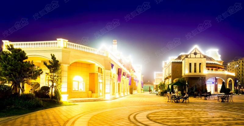 青岛碧桂园实景图之广场