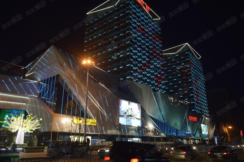 齐齐哈尔万达广场齐齐哈尔万达广场夜景 齐齐哈尔搜狐焦点网