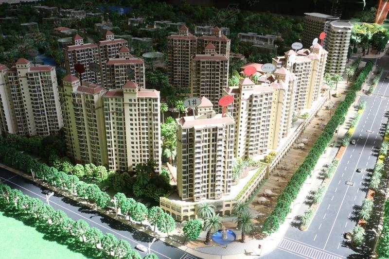 龙湖春江天玺2期实景图-沙盘全景-杭州搜狐焦点网