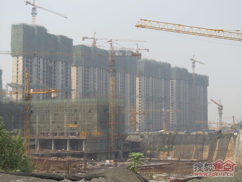 塔坛国际商贸城2013年8月20日施工进度图-石家庄搜狐