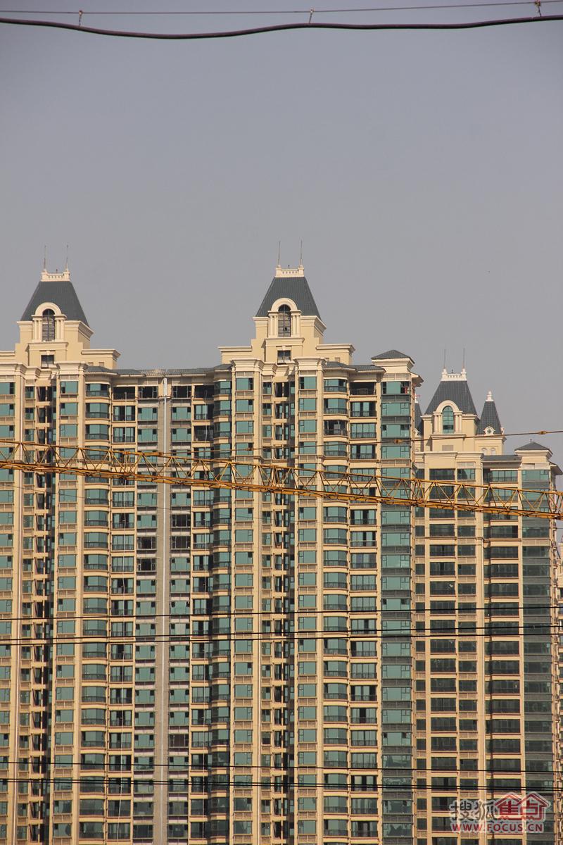 恒大御景半岛一期2013年10月12日施工进度-石家庄搜狐