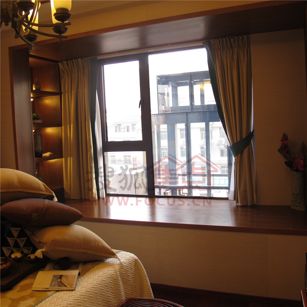 海赋江城天韵c户型样板间卧室图