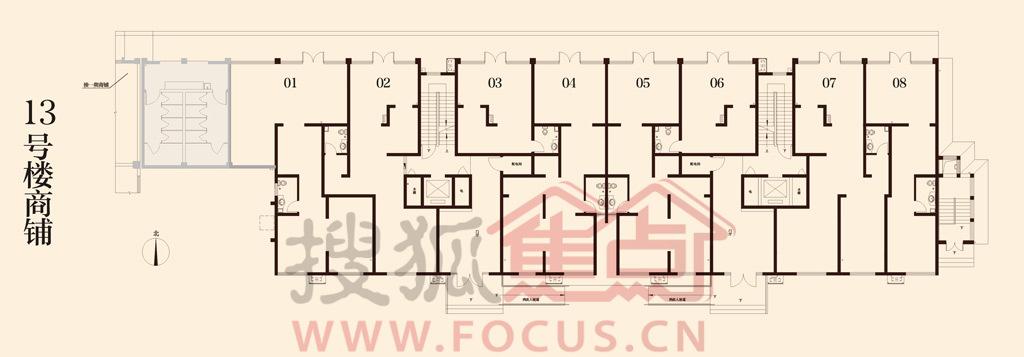 商铺 电路系统图