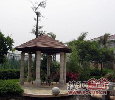 江南水乡的风情园林