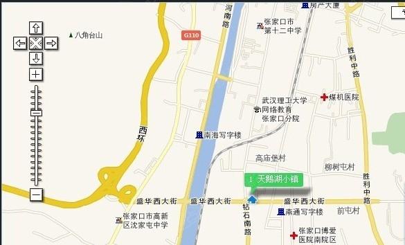 天鹅湖小镇交通图-张家口搜狐焦点网