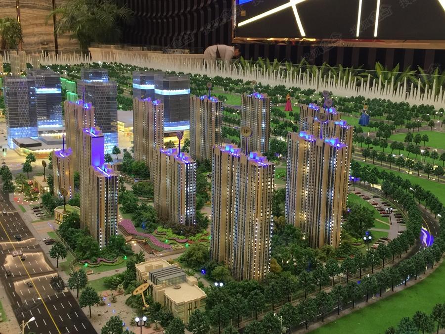汇泉西悦城实景图-一期地块-郑州搜狐焦点网