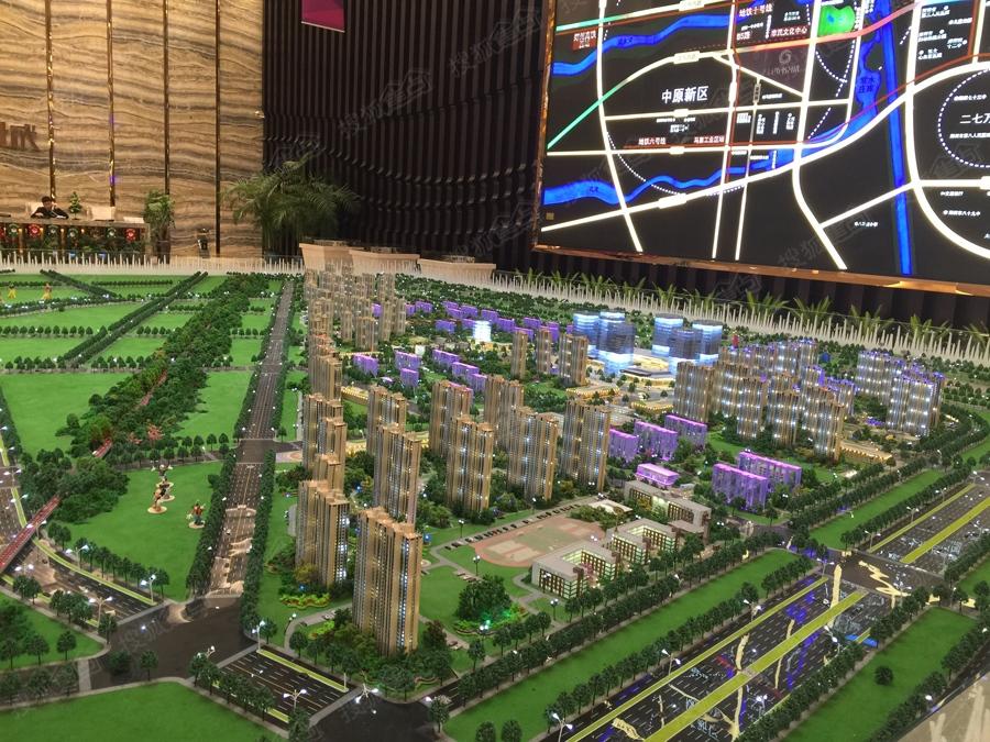 汇泉西悦城实景图-整体沙盘-郑州搜狐焦点网