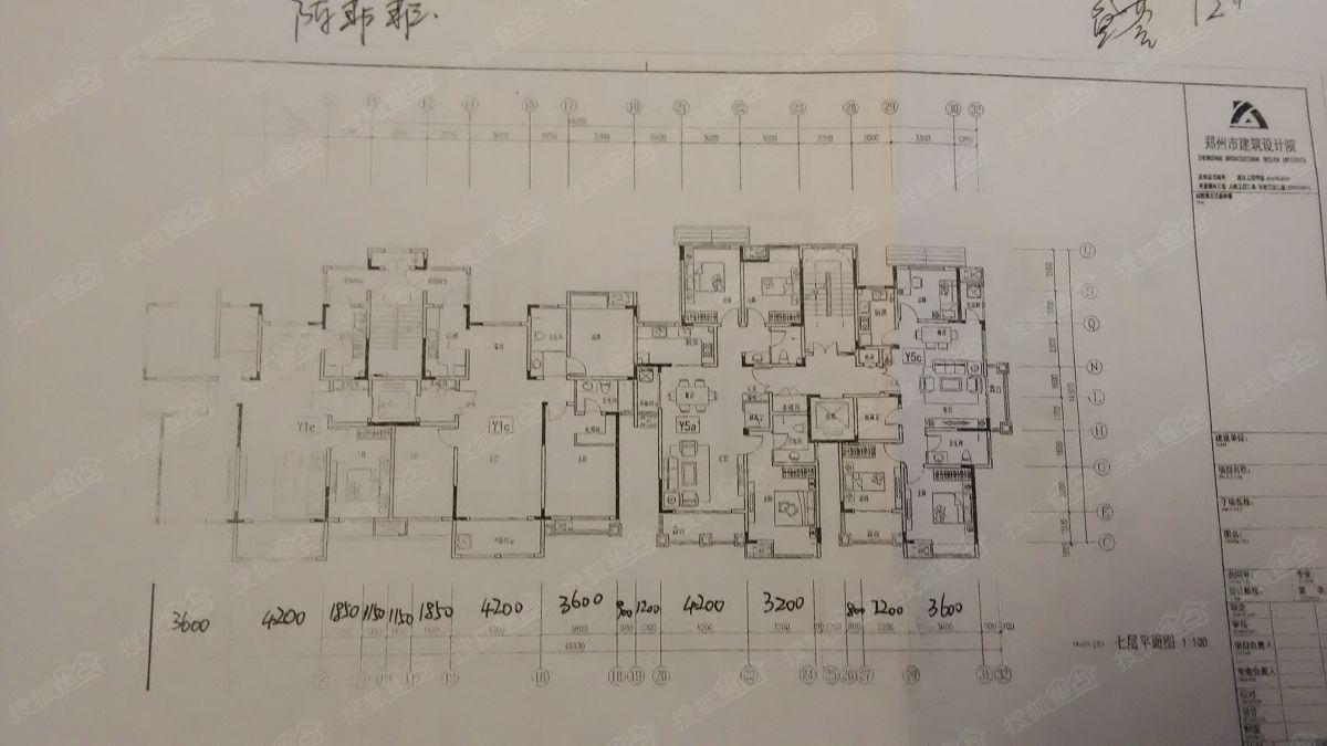 新田城盛荟12 楼7层平面图